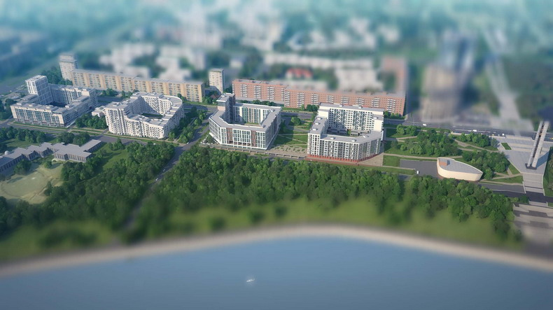 Ривера Парк проект в Ижевске