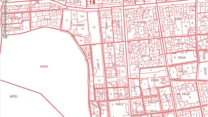 Кадастровая карта набережной ижевского пруда