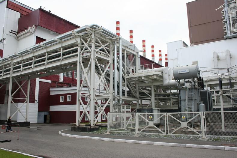 ТЭЦ-1 Ижевск здание нового энергоблока