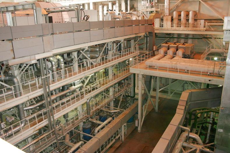 ТЭЦ-1 Ижевск новый энергоблок изнутри