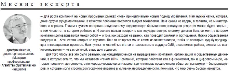 """Дмитрий Песков, руководитель направления """"Молодые профессионалы"""" АСИ"""