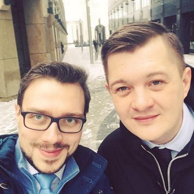 Михаил Хомич и Александр Свинин