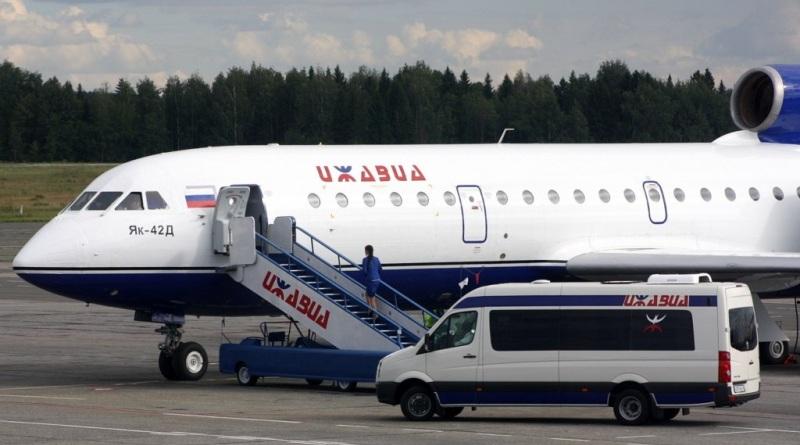 Ижавиа авиакомпания самолеты