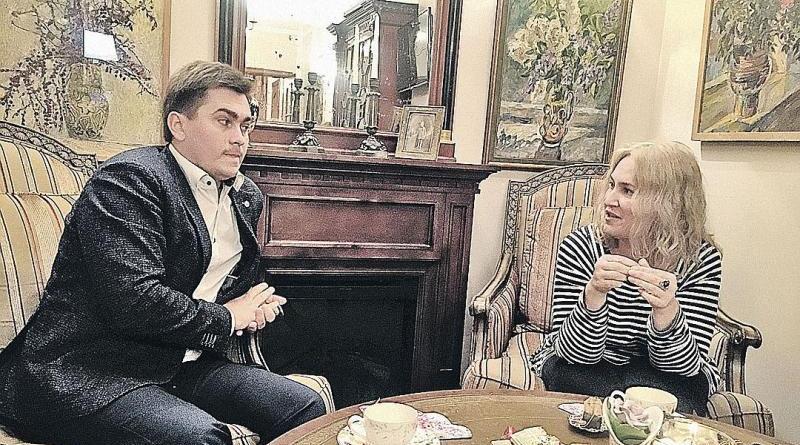 Захар Милостивенко и Евгения Сирик