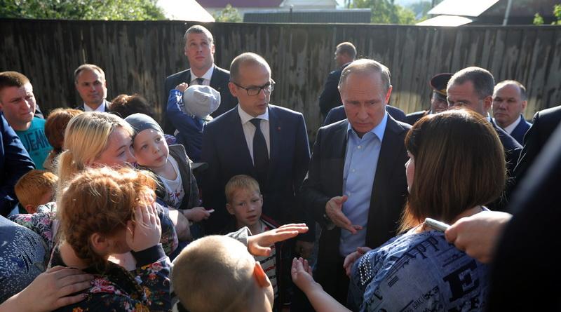 Путин в Ижевске