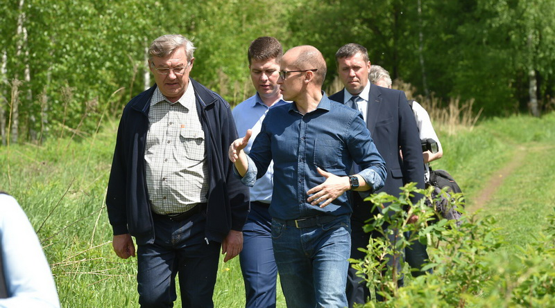 Александр Бречалов и Юрий Тюрин