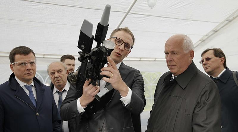 Концерн Калашников ружье против дронов