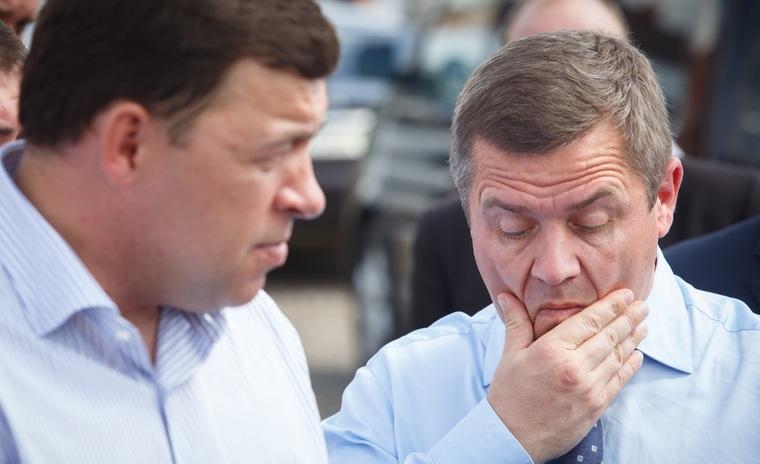 Валенитн Грипас и Евгений Кувайшев