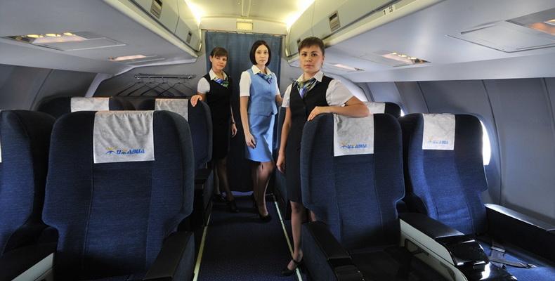 Ижавиа стюардессы