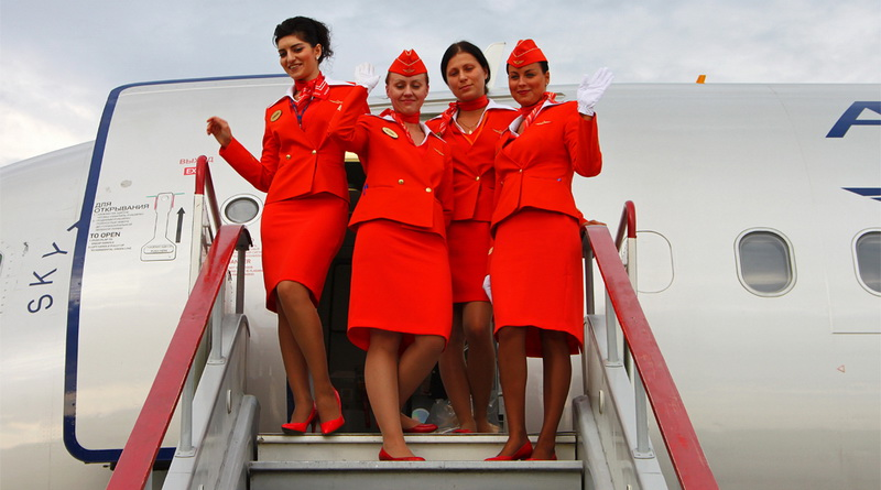 стюардессы Аэрофлот