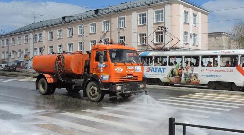Уборка улиц Ижевск
