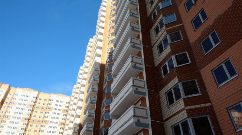 В жилом комплексе на улице Левобережной