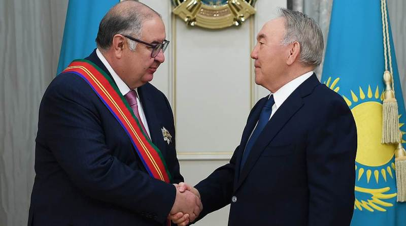 Алишер Усманов получил орден