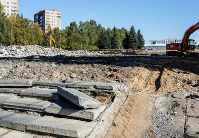 Реконструкция Центральной площади Ижевска
