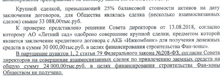 проверка АО Летний сад Ижевск 2