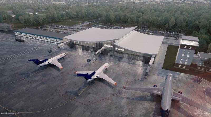 Аэропорт Ижевск новый терминал