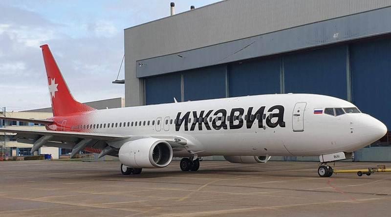 Ижавиа Boeing 737-800